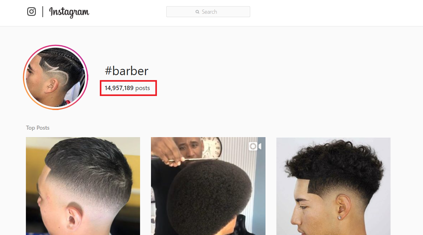 Barber Hashtags To Copy And Paste On Instagram That Actually Make