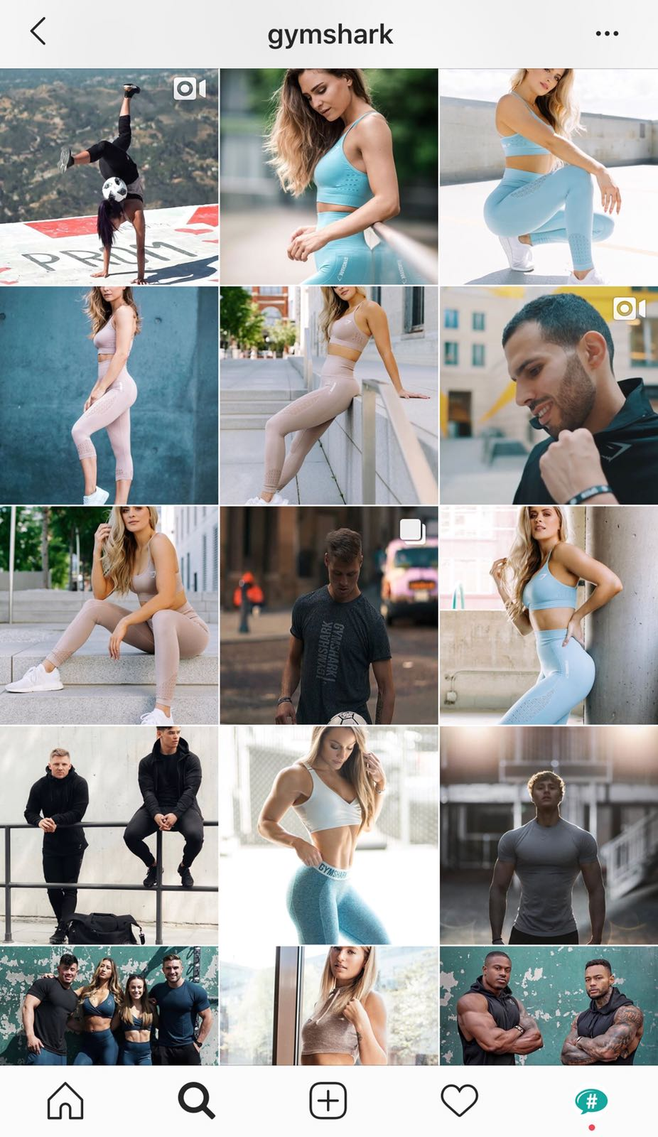 how to grow a fitness account on Instagram