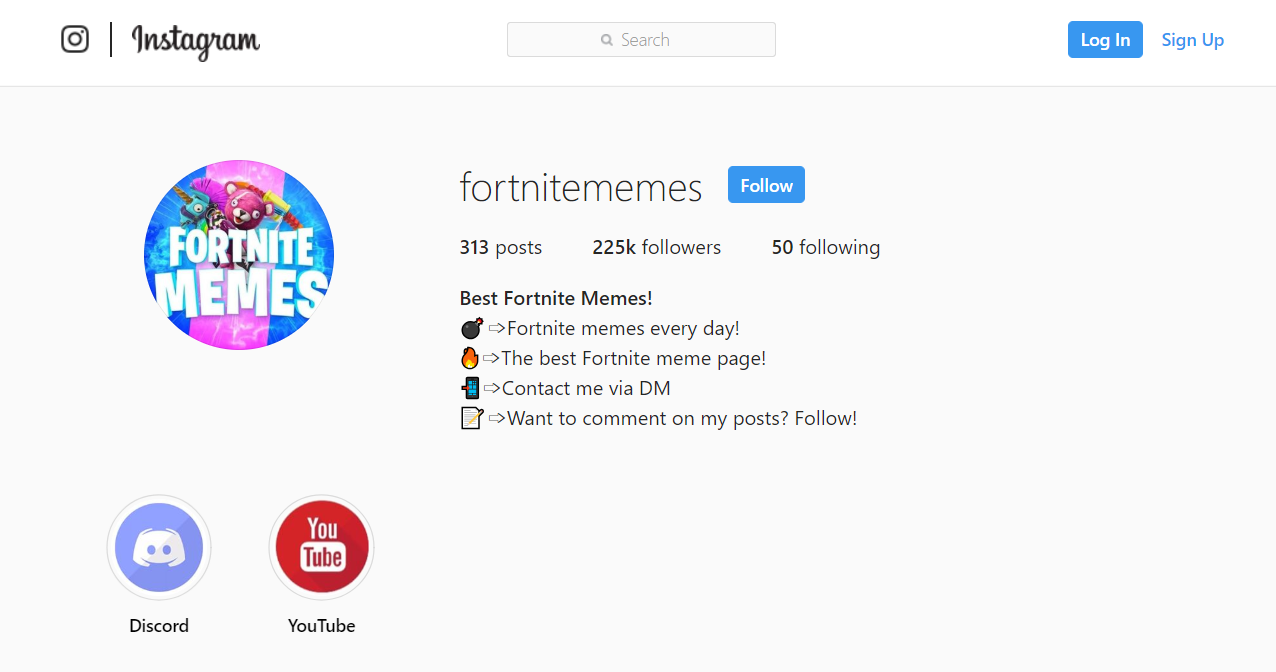 how to grow a meme page on Instagram 7